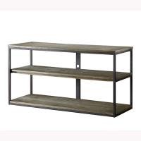 Buy cheap Metal Legs Solid Wood Coffee Table , Solid Wood Side Table With Aged Iron Finish from wholesalers
