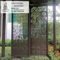 Buy cheap Custom Design 1-3mm Aluminum Perforated Panel for Patio Garden Decoration Powder Coating from wholesalers