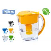 Buy cheap Countertop Alkaline Water Filter Pitcher Reduce Chlorine Customized Color from wholesalers