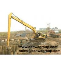 Buy cheap 18m long reach booms for CAT 320 excavator from wholesalers