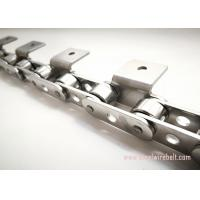 Buy cheap Durable Roller Stainless Steel Conveyor Chain High Frequency Quenching from wholesalers