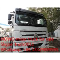Buy cheap SINO TRUK HOWO  High Efficient 6x4 high capacity concrete mixer trucks for sale from wholesalers