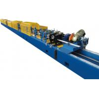 Buy cheap Material Thickness 0.27 - 0.4mm PU Sandwich Panel Production Line Manual Uncoiling product