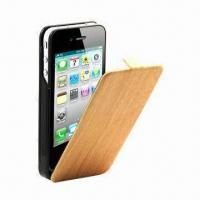 Buy cheap PU Leather Cover for iPhone 4S Extended Battery, Case Battery Carrying Case with MFi from wholesalers