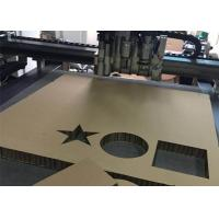Buy cheap 50mm Honeycomb Cutting Flatbed Plotter Digital CNC Cutter Machine from wholesalers