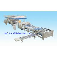Buy cheap High-Speed 2-Ply Corrugator Line, Single Faced Corrugated Cardboard Making Machine from wholesalers