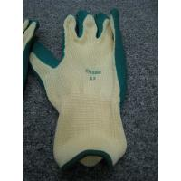 Buy cheap Industrial Cotton Interlock Liner Crinkle Latex Gloves For Construction Working from wholesalers