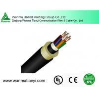 Buy cheap Outdoor G652D 24 Core Optical Fiber Cable ADSS product