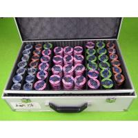 Buy cheap Colorful 760 Chips Casino Poker Chip Set Small Cool Texas Holdem Poker Set from wholesalers