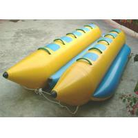 Customized pvc tarpaulin inflatable banana boat fly for Inflatable fly fishing boats