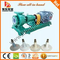 Buy cheap IHF anti-corrosive plastic alloy chemical pumps from wholesalers