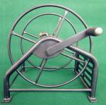 Buy cheap Heavy Duty Metal Garden Hose Reel With Folding Free Wheeling Crank Handle from wholesalers