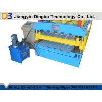 Buy cheap Customize Double Layer Roll Forming Machine with 10 - 12Mpa Hydraulic Pressure from wholesalers