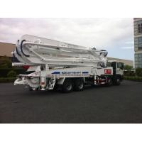 Buy cheap 47m Concrete Pump Trucks 8x4 / Cement Pumping Equipment With Cooling system from wholesalers