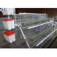 Buy cheap Metal Wire Mesh Poultry Chicken Cages , Battery Type Breeding Cages from wholesalers