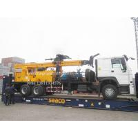 Buy cheap Heavy Duty Truck Mounted Water Well Drilling Rigs for 600m depth DTH Rotation Drilling 6X4 from wholesalers