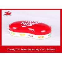 Buy cheap 0.23 MM Colored Holiday Candy Gift Tin Containers Personalised For Children from wholesalers