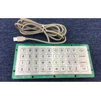 Buy cheap USB/PS/2 metal customized keyboard for road parking from wholesalers