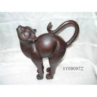 Buy cheap Resin craft  resin sculpture cat from wholesalers