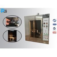 Buy cheap Durable Needle Flame Test Apparatus ISO17025 Authorized Third - Lab Calibration Certificated from wholesalers
