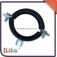 Buy cheap Rubber Heavy duty Cast Iron pipe clamp With M8+M10 Combi Nut & Rubber from wholesalers