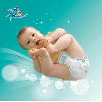Buy cheap Disposable Baby Diaper with 3D Leak Prevention Channel product