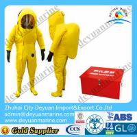 Buy cheap Lightweight Marine Fire Fighting Gear Fireman Chemical Protective Clothing from wholesalers