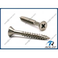 Buy cheap Marine Grade 316 Stainless Steel Decking Screw for Hardwood, Type 17, Fine Thread from wholesalers