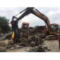 Buy cheap BeiYi excavator attachment hydraulic scrap steel shear Demolition of Car, steel from wholesalers