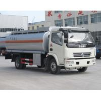 Buy cheap AGO DPK Oil Gas Tanker Truck 8000 Liter High Efficiency For Equipment Fuel Refilling from wholesalers