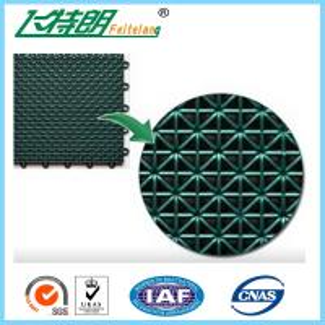 Buy cheap Futsal Interlocking Rubber Floor Tiles Polypropylene Exercise Floor Mats product