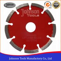 Buy cheap 115mm Diamond Tuck Point Diamond Blades Sintered Stable Long Cutting Life from wholesalers