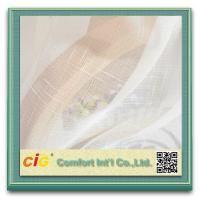 Buy cheap Yarn Dyed Cross Grain Sheer Curtain Cloth Home Textile Fabric for Decoration product
