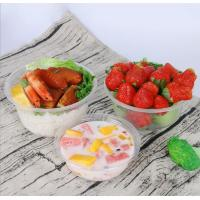 Buy cheap Disposable Salad Bowl,Microwave Safe Plastic Bowls,Hard Clear Plastic Dessert Bowls from wholesalers