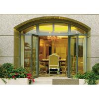 Buy cheap Insulated Glass Aluminium Casement Door Waterproof With Grill CCC , ISO 9001 from wholesalers