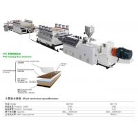 Buy cheap Twin Screw Pvc Wall Panel Extrusion Line , Pvc Panel Making Machine Long Service Life from wholesalers