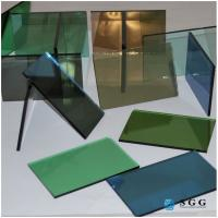 Buy cheap China 4mm 5mm 6mm dark green blue grey bronze reflective glass price from wholesalers
