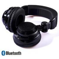 Buy cheap Black headset Loud and powerful bass noise cancel Wireless Stereo Bluetooth headphone from wholesalers