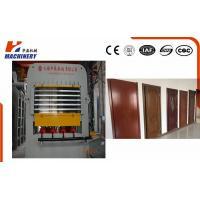 Manual And Automatic Embossed Door Skin Press Machine For Multilayer Door Press