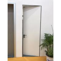 Buy cheap 45mm Thickness Italy Style HPL hidden door solution system for modern house from wholesalers