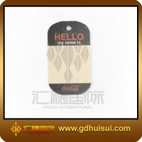 Buy cheap promotional zinc alloy cheap dog tags from wholesalers