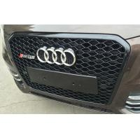 Buy cheap Audi Q5 2013 Chrome Car Grilles ,  RSQ5 Style Modified Auto Grille from wholesalers