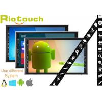 Buy cheap IR 55, 65, 70, 84 high resolution led TV built-in one PC With education software from wholesalers