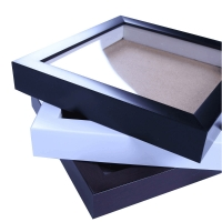 Buy cheap Customized 6/7/8/10/12/16/A3/A4 inch hollow stereo specimens frame, PS material 3D photo frame from wholesalers