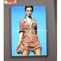 Buy cheap Wall Mount Super Slim Aluminum Snap Frame LED Light Box Indoor Decoration from wholesalers