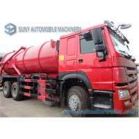 Buy cheap 18000 L HOWO Sewer Flushing Truck 336hp Vacuum Suction Sewage Truck from wholesalers
