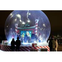 Buy cheap Transparent Inflatable Snow Globe For Product Promotion from wholesalers