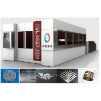 Fully Enclosed Fiber Laser Cutting Machine , 2000W Laser Cutter Machines