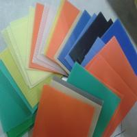 Buy cheap 2mm-12mm colorful pp corflute sheet,any size,any color you need from wholesalers