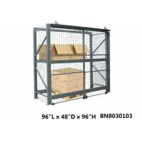 Buy cheap Inventory Secure Industrial Storage Cage , Lockable Pallet Cages 48 Inch Depth from wholesalers